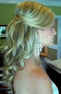 half up wedding hairstyles half up half down wedding hair Hairstyles for weddings
