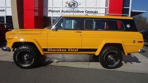 1977 jeep cherokee chief 1977 jeep cherokee chief v8 for sale