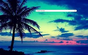 Sunset Google Theme