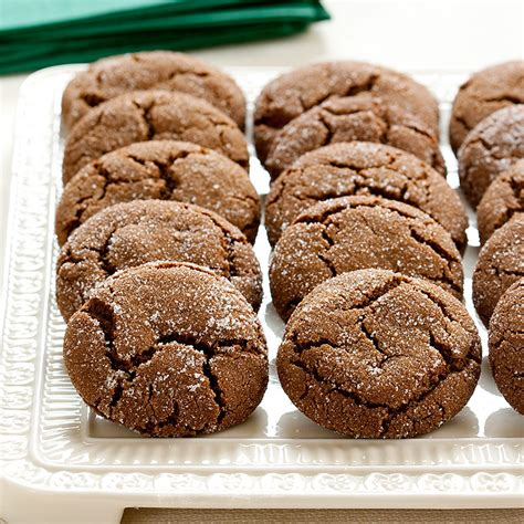 Dressed up with green food coloring and red candies, they're a fun addition to cookie platters and dessert buffets. Soft and Chewy Molasses Spice Cookies Recipe - America's Test Kitchen