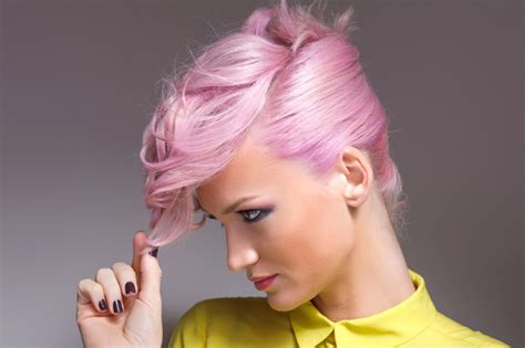 dyed  hair pink   beauty ideas livingly