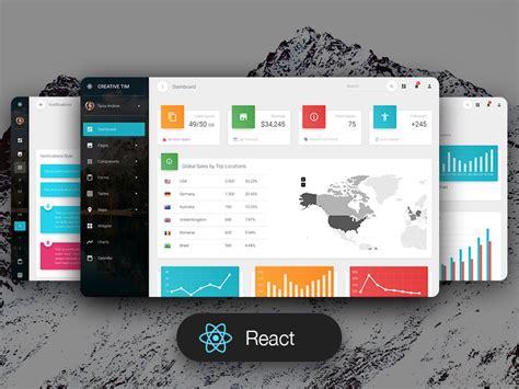material dashboard pro react premium material ui