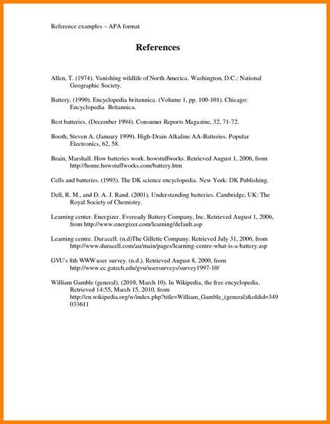 Free Apa Bibliography Template by Bibliography Exle Apa Format Juzdeco