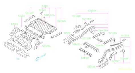 Baja Body Parts Diagram