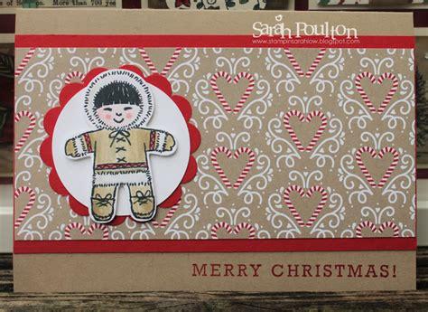 stampin sarah  cookie cutter christmas card