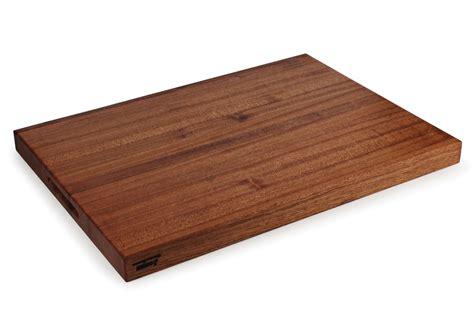 jones sapele edge grain cutting board xx cutlery
