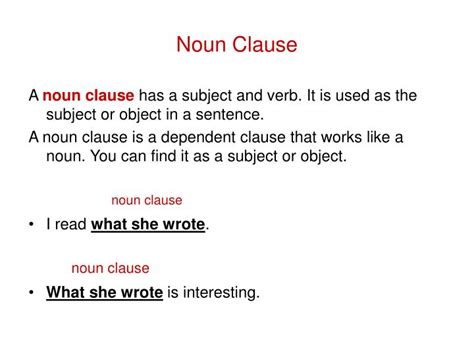 Become comfortable with the concept by reading through this helpful guide! ⭐ Noun clause as subject of sentence. Use noun in a sentence. 2019-01-28