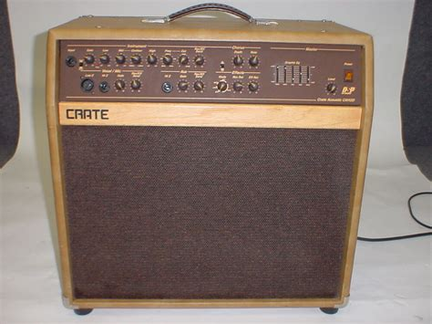 Crate Ca112d Acoustic Combo Guitar Amplifer Amp