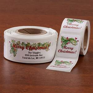 christmas labels and seals christmas address labels With holiday address labels and seals