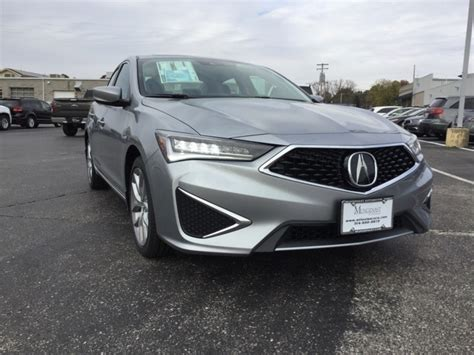 new 2019 acura ilx base 4d sedan in manchester 23560 mungenast st louis acura