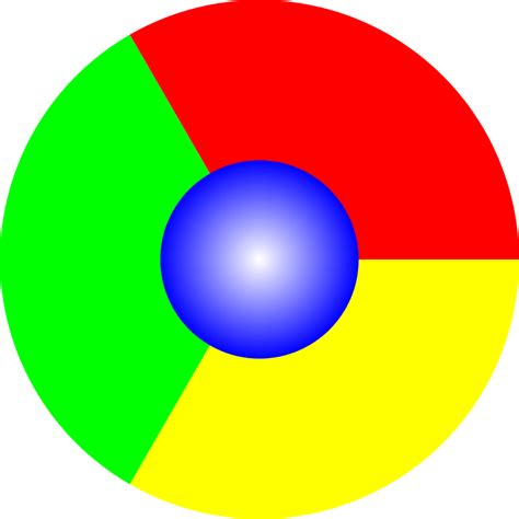 filegoogle chrome icon  mockupsvg wikimedia commons