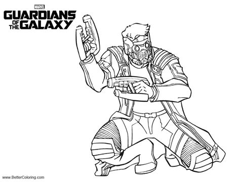 guardians   galaxy coloring pages  printable