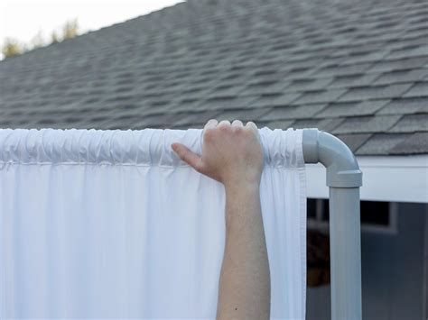 plastic fence how to an outdoor privacy screen from pvc pipe hgtv