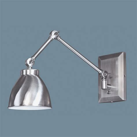 norwell lighting pewter swing arm l 8471 pw ms destination lighting