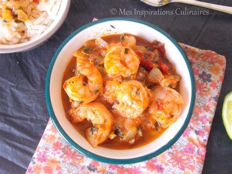 cuisine crevette fricassee de crevettes recette antillaise le cuisine de samar