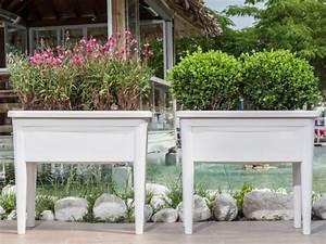 Gartengestaltung mit pflanzkubeln der garten bleibt for Feuerstelle garten mit pflanzkübel weiss rechteckig