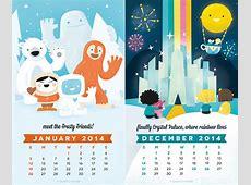 Kids Calendar Template 9+ Free Calendar Templates