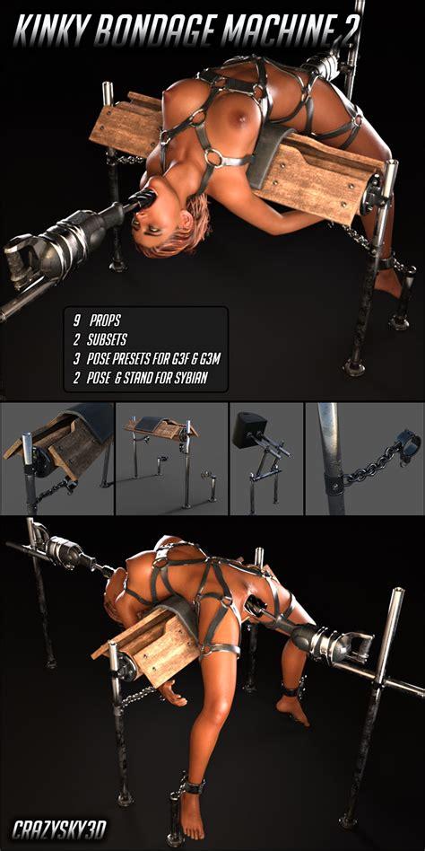 renderotica kinky bondage machine 2