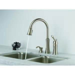 lakeview single handle pull down sprayer kitchen faucet in