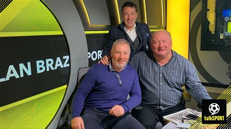 talksport alan brazil breakfast fight tottenham studios york joshua charity stadium anthony ultimate auction experiences scenes behind amazing go united