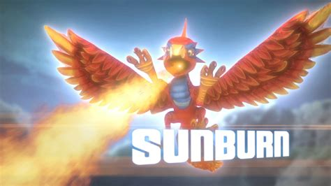 sunburn skylanders wiki fandom powered  wikia