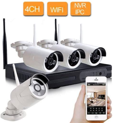 beveiligingscamera buiten wifi bol cctv beveiligingscamera set 4 camera s draadloos
