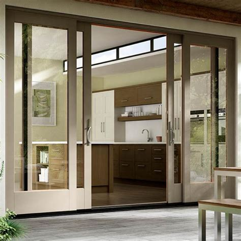 all patio doors and more style sliding patio doors wood vinyl fiberglass aluminum