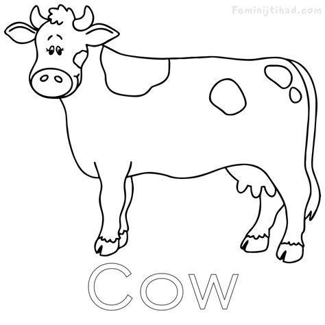 cow coloring page cow coloring pages free to print coloring pages for