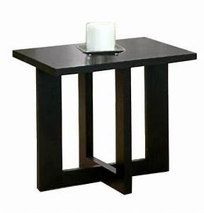 2pcs wooden black wooden cheap modern coffee and end With affordable modern coffee tables