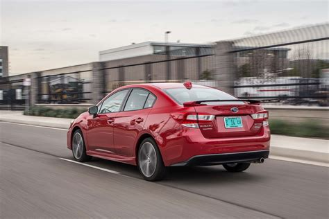 hatchback subaru 2017 2017 subaru impreza sedan and hatchback first test