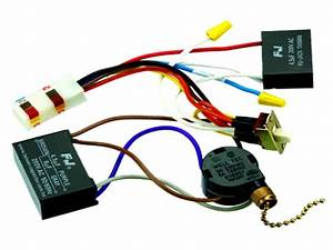 Hunter Ceiling Fan Capacitor Wiring Diagram