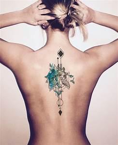 Frauen Rücken Tattoo : 1001 ideen und bilder zum thema aquarell tattoo und seine bedeutung tattoos tattoo ideen ~ Frokenaadalensverden.com Haus und Dekorationen
