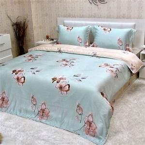 Completo lenzuola matrimoniale maxi copripiumino di Tencel® *Elinor* Completi lenzuola in