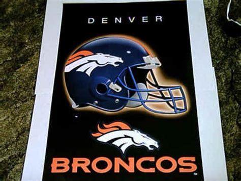 denver broncos football team logo poster poster