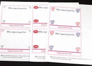 Free Printable Valentine U0026 39 S Day Coupon Book
