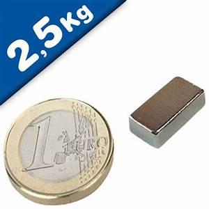 Haftkraft Magnet Berechnen : quadermagnet magnet quader 13 x 6 x 4mm neodym n35 nickel haftkraft 2 5 kg neodym magnete ~ Themetempest.com Abrechnung