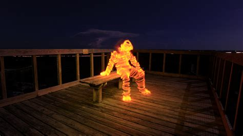 Light Painting Tutorial, How To Light Paint A Light Man