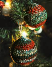 crochet christmas ornaments mellie blossom