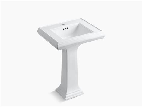 kohler memoirs undermount sink template memoirs pedestal lavatory with classic design and single