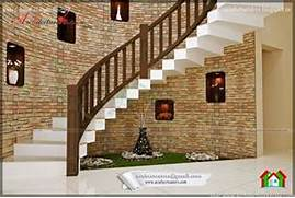Beautiful Staircase Interior BEAUTIFUL STAIR INTERIOR DESIGN ARCHITECTURE KERALA