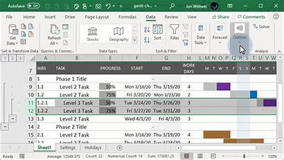 Excel Collapse Expand Buttons Move Outlining Groups