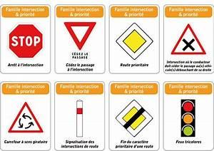 Intersection Code De La Route : jeu des 5 familles de panneaux de signalisation routi re famille intersection ~ Medecine-chirurgie-esthetiques.com Avis de Voitures