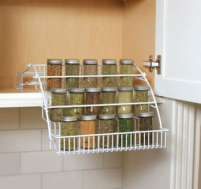 rubbermaid pull spice rack jeri s organizing decluttering news 15 ways to