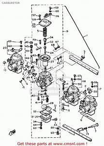 Yamaha Xj650 Maxim 1981  B  Usa Carburetor