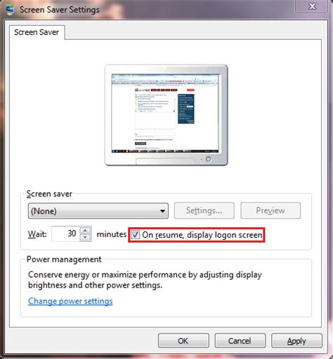 The local accounts with blank passwords would still function. group policy - How to lock Windows 7 workstation after inactivity via GPO (no screensaver or ...