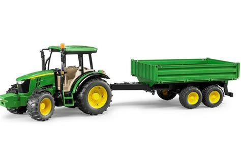 bruder farm bruder john deere 5115m trailer 02108 farm toys online