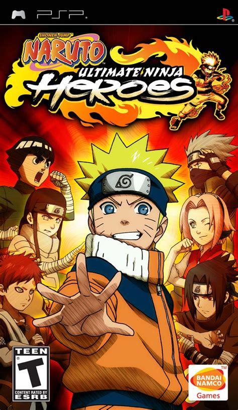 naruto ultimate ninja heroes playstation portable ign