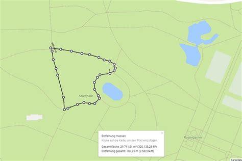 laufstrecke mit google maps planen route waehlen und