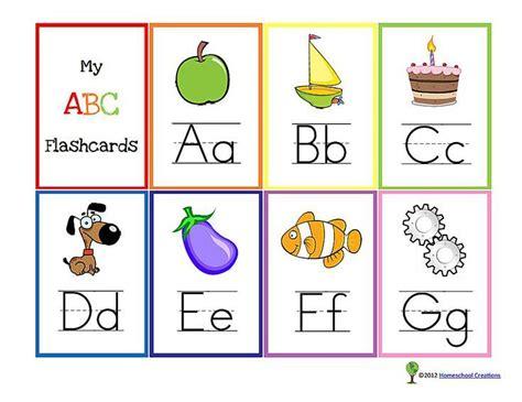 free printable preschool flash cards 11 sets of printable alphabet flashcards bulletin boards 77023