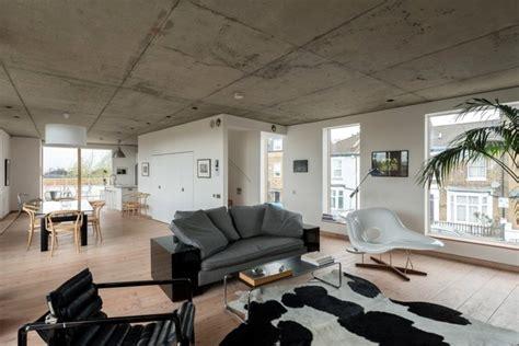 revetement sol pour chambre intérieur moderne et brut